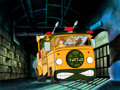 Animation Art:Production Cel, Teenage Mutant Ninja Turtles Rafael and April in Party Wagon Production Cel (Murakami-Wolf-Swenson, 1987). ...