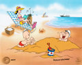 """Animation Art:Limited Edition Cel, Popeye """"Day at the Beach"""" Signed Limited Edition Cel #180/200 (King Features Syndicate/Fleischer, 1998..."""