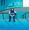 Animation Art:Production Cel, Super Friends Darkseid Production Cel (Hanna-Barbera, c. 1980s)....