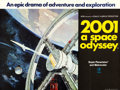 """Movie Posters:Science Fiction, 2001: A Space Odyssey (MGM, 1968). Folded, Very Fine+. British Quad (30"""" X 40""""). Robert McCall Artwork.. ..."""