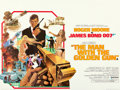 "Movie Posters:James Bond, The Man with the Golden Gun (United Artists, 1974). Folded, Very Fine/Near Mint. British Quad (30"" X 40""). Robert McGinnis A..."