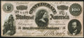 Confederate Notes:1864 Issues, T65 $100 1864 PF-3 Cr. 494 Very Fine-Extremely Fine.. ...