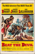 """Movie Posters:Adventure, Beat the Devil (United Artists, 1953). Folded, Fine/Very Fine. One Sheet (27"""" X 41""""). Adventure.. ..."""