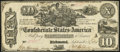 Confederate Notes:1861 Issues, T29 $10 1861 PF-1 Cr. 237 Fine-Very Fine.. ...