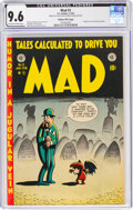 Golden Age (1938-1955):Humor, MAD #3 Gaines File Copy 9/12 (EC, 1953) CGC NM+ 9.6 Off-white to white pages....