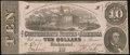 Confederate Notes:1862 Issues, T52 $10 1862 PF-21 Cr. 375 Choice About Uncirculated.. ...