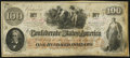 Confederate Notes:1862 Issues, T41 $100 1862 PF-8 Cr. 321 Very Fine.. ...