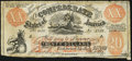 Confederate Notes:1861 Issues, XX-1/A2 $20 1861 Female Riding Deer Bogus Note Very Good-Fine.. ...