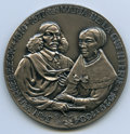 """South Africa: George VI silver """"Jan van Riebeeck - 300th Anniversary of Landing at Cape of Good Hope"""" Medal 19..."""