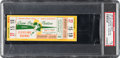 Football Collectibles:Tickets, 1965 NFL Championship Game Packers vs. Browns Full Ticket, PSA VG 3....