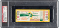 Football Collectibles:Tickets, 1961 NFL Championship Game Packers vs. Giants Full Ticket, PSA Authentic....