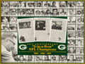 Football Collectibles:Photos, 1960's Green Bay Packers Greats Multi-Signed Oversized Print. ...