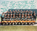 Football Collectibles:Photos, 1966 Green Bay Packers Team Signed Oversized Photograph - Super Bowl I Team. ...