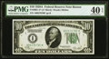 Fr. 2001-A* $10 1928A Federal Reserve Note. PMG Extremely Fine 40 EPQ