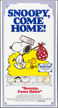 """Movie Posters:Animation, Snoopy, Come Home! (National General, 1972). Folded, Very Fine+. Three Sheet (41"""" X 77""""). Charles Schulz Artwork. Animation...."""