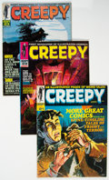 Magazines:Horror, Creepy Group of 23 (Warren, 1968-74) Condition: Average VF/NM.... (Total: 23 Comic Books)