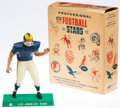 Football Collectibles:Others, Vintage 1960's Hartland Statue Los Angeles Rams With Original Box. ...