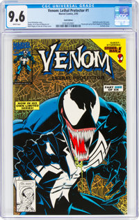 Venom: Lethal Protector #1 (Gold Variant) (Marvel, 1993) CGC NM+ 9.6 White pages