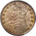 Bust Half Dollars, 1828 50C Square Base 2, Large 8s, O-108, R.3, MS64+ PCGS. CAC....