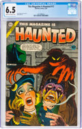 Golden Age (1938-1955):Horror, This Magazine Is Haunted #17 (Charlton, 1954) CGC FN+ 6.5 Cream to off-white pages....