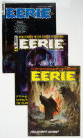 Magazines:Horror, Eerie Group of 5 (Warren, 1966-68).... (Total: 5 Comic Books)