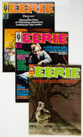 Magazines:Horror, Eerie Group of 21 (Warren, 1968-74) Condition: Average VF/NM.... (Total: 21 Comic Books)