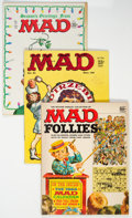 Magazines:Mad, MAD Group of 9 (EC, 1958-65) Condition: Average VF-.... (Total: 9 Comic Books)