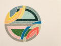 Fine Art - Work on Paper:Print, Frank Stella (b. 1936). Sinjerli Variation IIa, 1977. Offset lithograph and screenprint in colors on Arches Cover paper...
