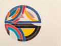 Fine Art - Work on Paper:Print, Frank Stella (b. 1936). Sinjerli Variation III, 1977. Offset lithograph and screenprint in colors on Arches Cover paper...