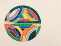 Fine Art - Work on Paper:Print, Frank Stella (b. 1936). Sinjerli Variation IV, 1977. Offset lithograph and screenprint in colors on Arches Cover paper. ...