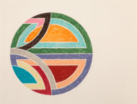 Frank Stella (b. 1936) Sinjerli Variation I, 1977 Offset lithograph and screenprint in colors on Arc