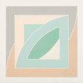 Fine Art - Work on Paper:Print, Frank Stella (b. 1936). River of Ponds IV, from Newfoundland Series, 1971. Lithograph in colors on Arjomari paper. 3...