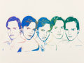 Prints:Contemporary, Andy Warhol (1928-1987). Miguel Bosé, 1983. Screenprint in colors on Saunders Waterford paper. 22 x 30-5/8 inches (55.9 ...