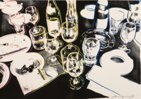 Andy Warhol (1928-1987) After the Party, 1979 Screenprint in colors on Arches 88 paper 21-1/2 x 30-1/2 inches (54.6 x