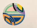 Fine Art - Work on Paper:Print, Frank Stella (b. 1936). Sinjerli Variation II, 1977. Offset lithograph and screenprint in colors on Arches Cover paper. ...