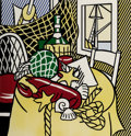 Prints:Contemporary, Roy Lichtenstein (1923-1997). Still Life with Lobster, from Six Still Lifes, 1974. Lithograph and screenprint in col...