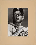 """Autographs:Photos, Circa 1990 Mickey Mantle """"1951"""" Signed Photograph.... (Total: 2 items)"""