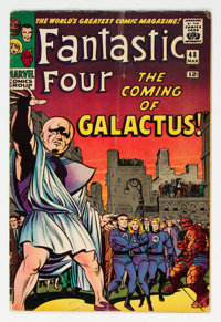 Fantastic Four #48 (Marvel, 1966) Condition: VG-