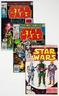 Star Wars Group of 35 (Marvel, 1977-81) Condition: Average FN.... (Total: 35 )