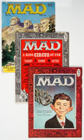 Magazines:Mad, MAD #29-31 Group (EC, 1956) Condition: Average VG/FN.... (Total: 3 Comic Books)