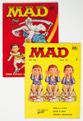 Magazines:Mad, MAD #36 and 37 Group (EC, 1957-58) Condition: Average FN/VF.... (Total: 2 Comic Books)