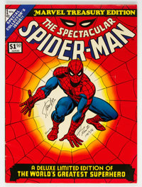 Marvel Treasury Edition #1 Limited Signed Edition #376/1000 (Marvel, 1974) Condition: VG