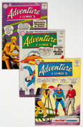 Silver Age (1956-1969):Superhero, Adventure Comics Group of 4 (DC, 1958-60) Condition: Average FN-.... (Total: 4 Comic Books)