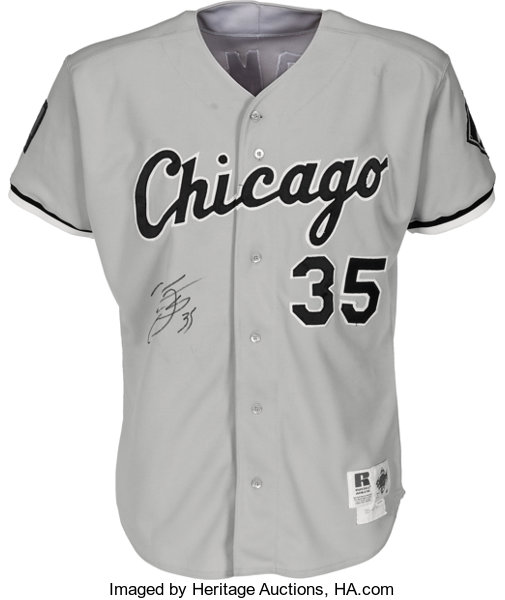 huge selection of 75619 9f1a3 1994 Frank Thomas Game Worn & Signed Chicago White Sox ...