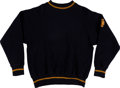Football Collectibles:Uniforms, 1930's Notre Dame Fighting Irish Football Sweater....