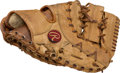 Baseball Collectibles:Others, 1976 Joe Torre Game Used Fielder's Glove....