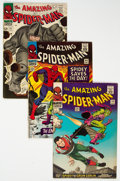 Silver Age (1956-1969):Superhero, The Amazing Spider-Man Group of 14 (Marvel, 1966-68) Condition: Average VG.... (Total: 14 Comic Books)