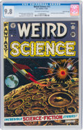 Golden Age (1938-1955):Science Fiction, Weird Science #11 Gaines File Pedigree 10/12 (EC, 1952) CGC NM/MT 9.8 Off-white to white pages....