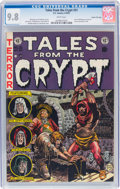 Golden Age (1938-1955):Horror, Tales From the Crypt #31 Gaines File Pedigree 4/12 (EC, 1952) CGC NM/MT 9.8 White pages....