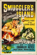 "Movie Posters:Adventure, Smuggler's Island (Universal International, 1951). Folded, Fine/Very Fine. One Sheet (27"" X 41""). Adventure.. ..."